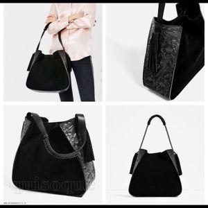 Zara Large Leather Bag